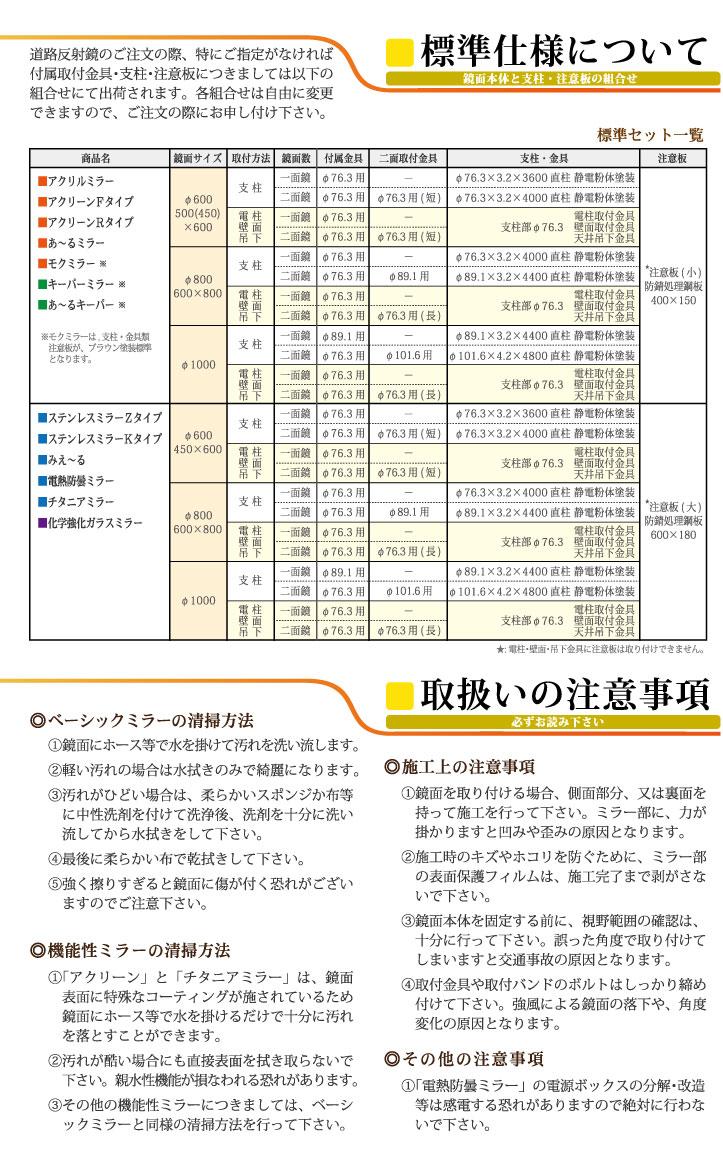 道路反射鏡 オプション&資料03